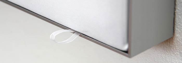 Støjdæmpende billeder med vaskbare overflader