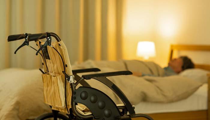Døgnrytmebelysning på hospitaler og plejehjem - Patient i seng