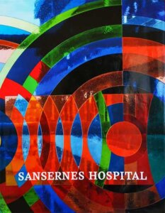 """Bogen """"Sansernes Hospital"""" om helende arkitektur af Lars Heslet Kim Dirckinck-Holmfeld"""