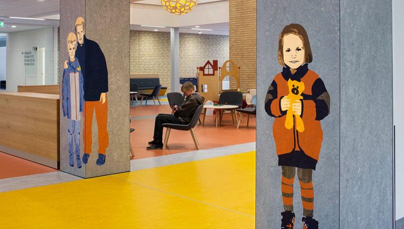 Hvad gør kunst på hospitaler
