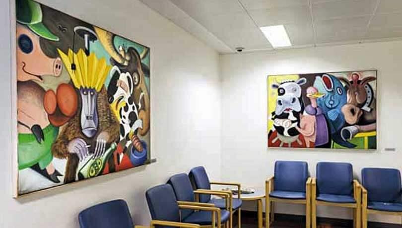 Kunst i venteværelset