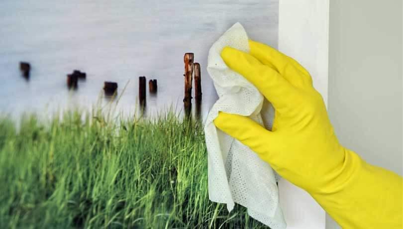 Hygiejniske billeder til plejehjem og hospitaler